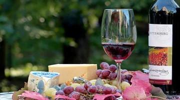 вино сирене храна зима