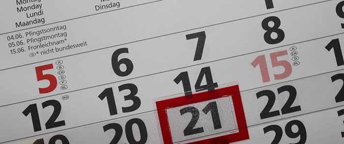 календар почивни дни работни