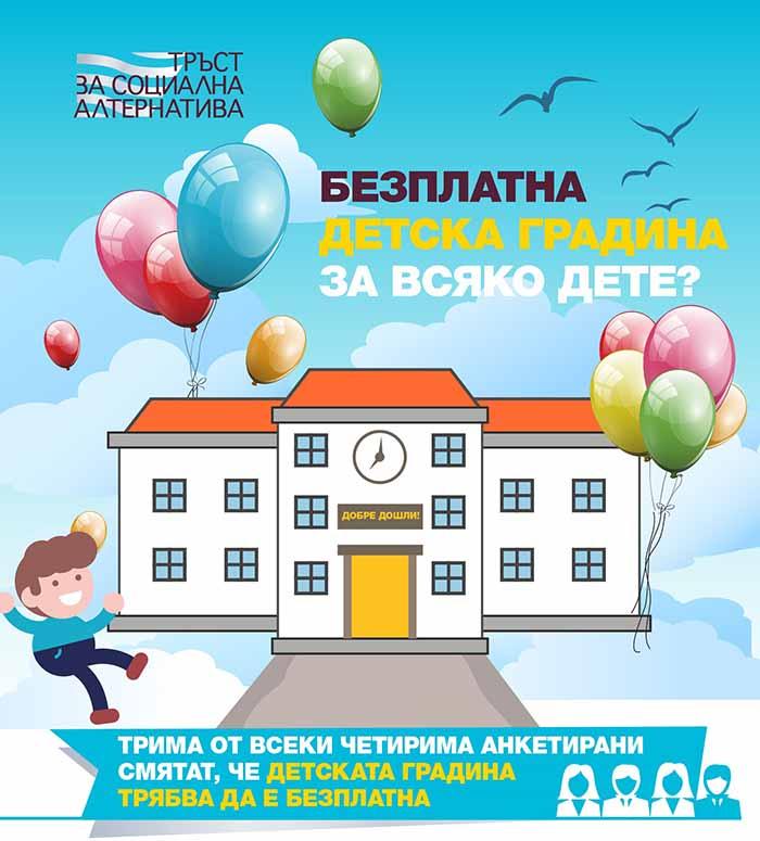 детски градини, новини Перник, новини Радомир, безплатна детска градина, Тръст за социална алтернатива
